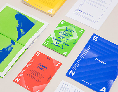 Graphic Communication Campaign for EINA