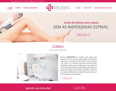 Site Clínica RRUFATO