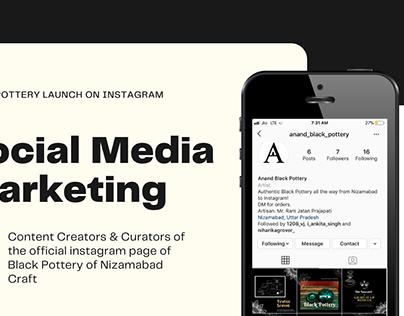 Promoting Artisan's work on Social Media