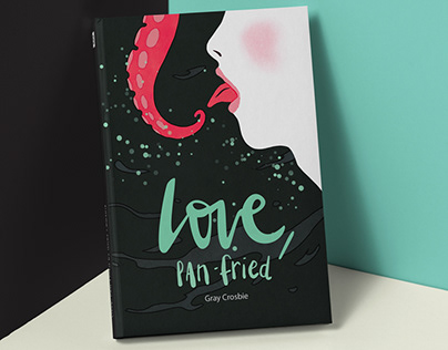 Poetry book cover / Love, Pan-fried