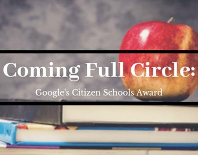Full Circle: Google's Citizen Schools Award