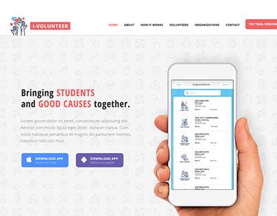 UX/UI Design i-Volunteer