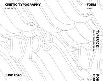 Kinetic Typography Case Study 03