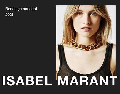 ISABEL MARANT — Redesign UI/UX Concept