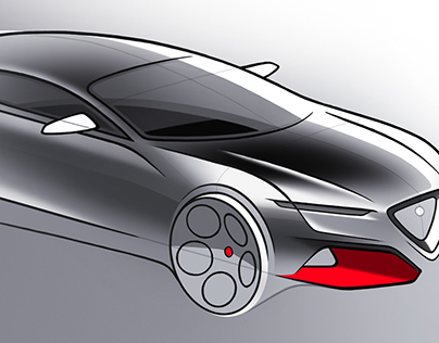 Automotive sketches - 2/2017
