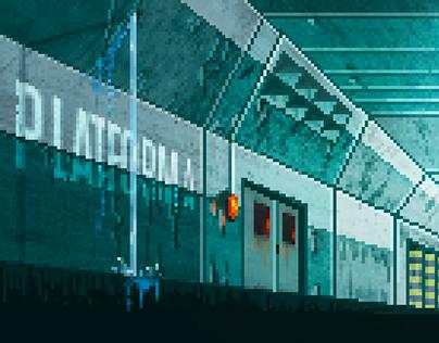 Andromeda 1983 - An 8bit game