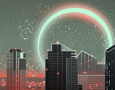 RED - cityscapes