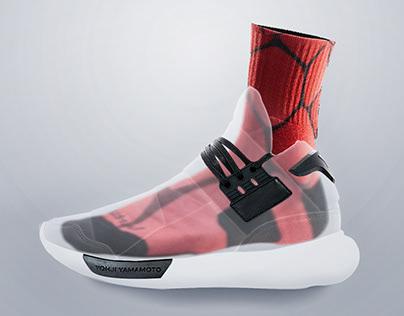 Adidas Y-3 Advertisement Concept