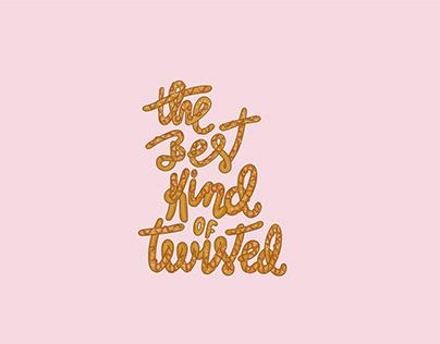 pretzel australia   lettering