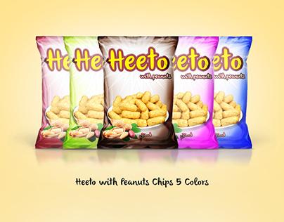 Heeto Chips Pack Design
