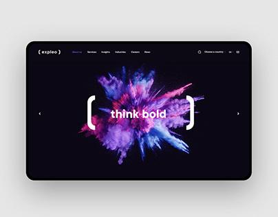 Expleo - brand identity
