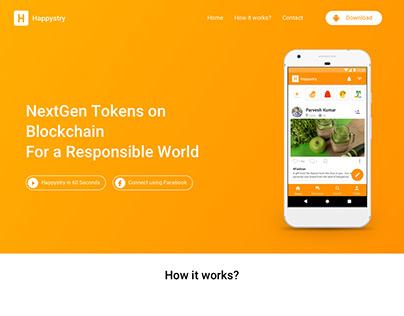 Happystry Website