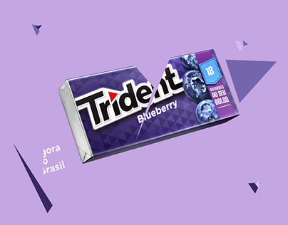 "Mondelez . Trident 18 units pack - 5"" Spot"
