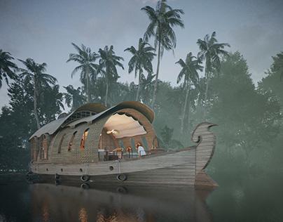 Houseboat -Kerala-India