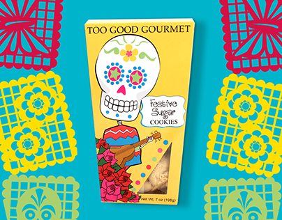 Day of the Dead Cookie Packaging