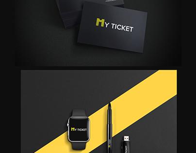 """My Ticket "" logo"