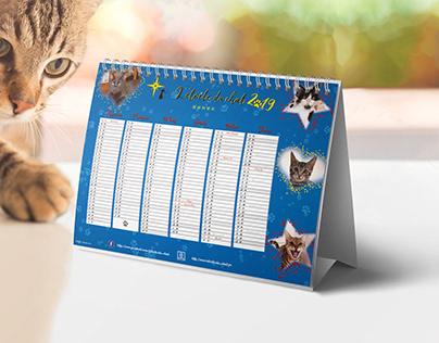 The cat's star Calendar