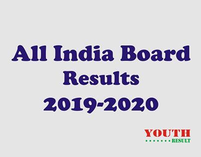 All India Board Result 2019