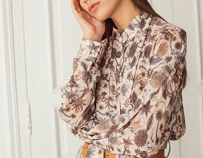 Cinderella. textile pattern fall/winter 2019