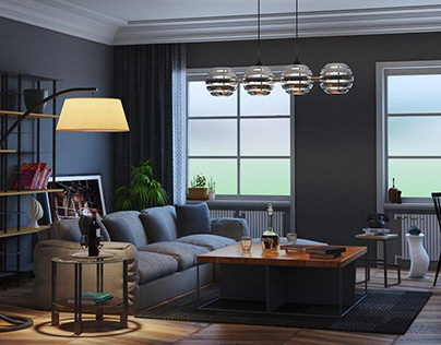 Architectural 3D Rendering Services for Home Interior