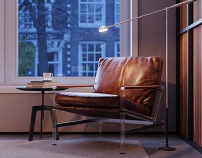 CGI - Amsterdam Apartment
