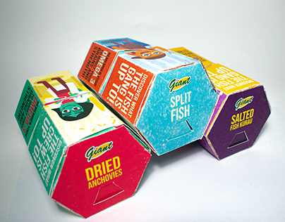 Dried Fish Packaging