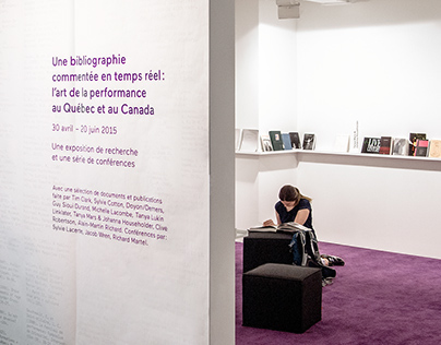 An Annotated Bibliography in Real Time Exhibit