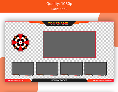 Gaming Chat Overlay UI/UX Design.