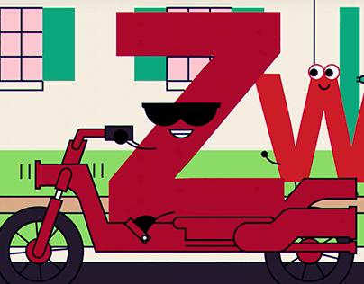"Daniel Tashian ""The Letters"" Animated Video"