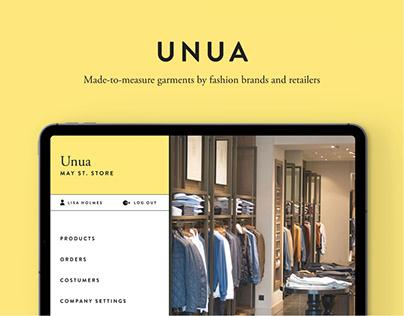 UNUA: a fashion sales management app