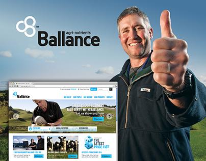 Ballance Website Design