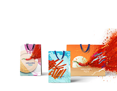 Food Court Identity - RIO2 Madrid