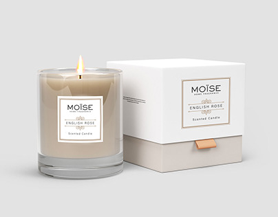 Branding and label design for a home fragrances company