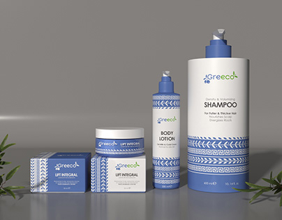 Logo design and packaging for cosmetics brand