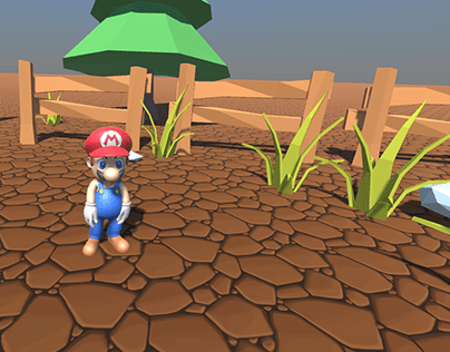 MARIO DANCER (CHARACTER RIGGING / VOICE RECOGNITION)