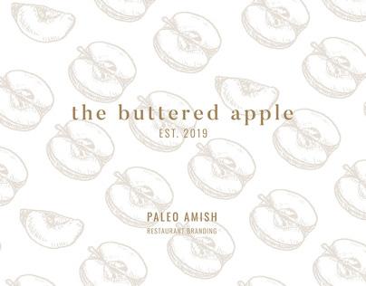 The Buttered Apple Restaurant Branding