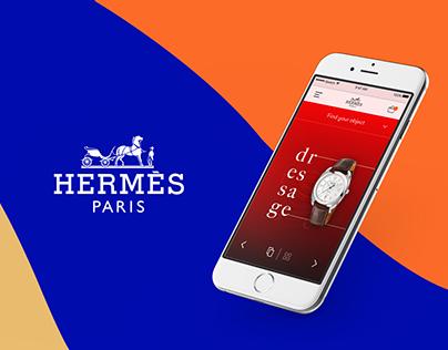 Refonte écosystème digital Hermès - UX/UI