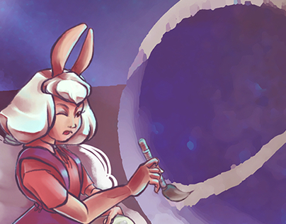 Character Design - Moon painter