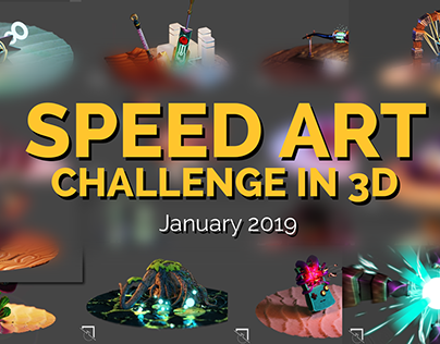 3D Speed Art Challenge - January 2019