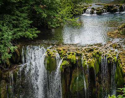 waterfall country