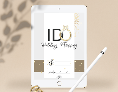 I do Wedding Planner - Interactive PDF
