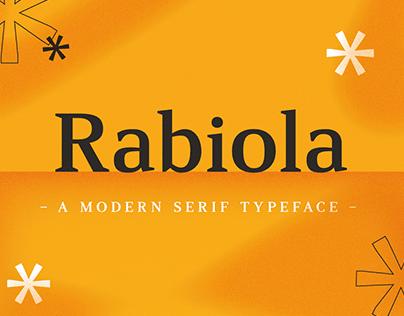 Rabiola | Free Font