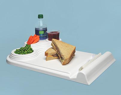 Cloud | Hospital Food Tray