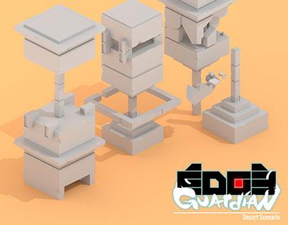 Edge Guardian Desert Scenario