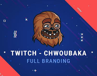Chwoubaka - Twitch branding
