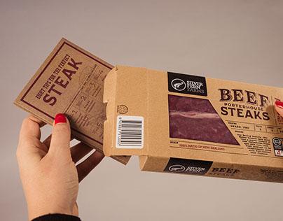 Silver Fern Farms Beef Packaging