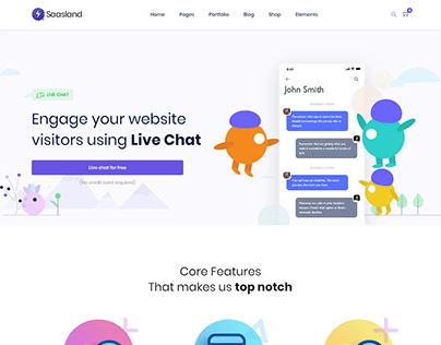 Engage your website