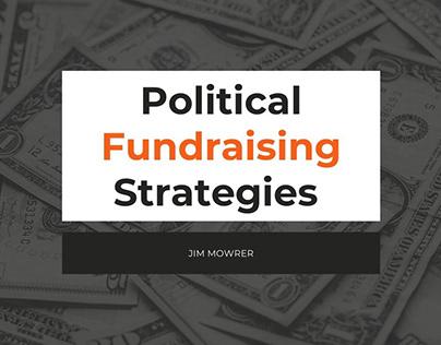 Political Fundraising Strategies | Jim Mowrer