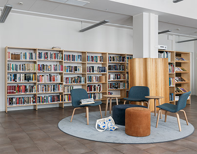 A Finnish centre of culture in St. Petersburg. Library