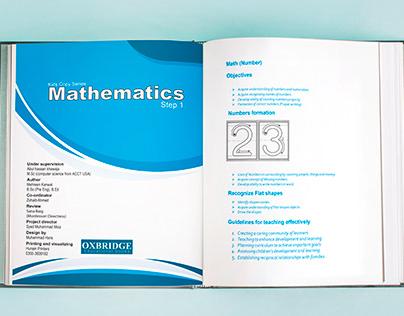Pre-Primary School Math Copy Series Grade I-III